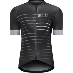 Alé Cycling Solid Ergo SS Jersey Herre black-grey